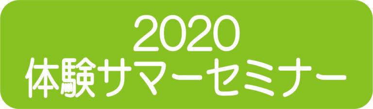 2020summer seminar